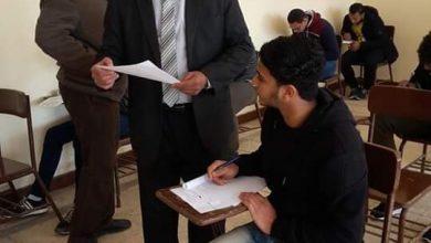 عبدالسلام يتابع إمتحانات الأزهر بالمنوفية 3